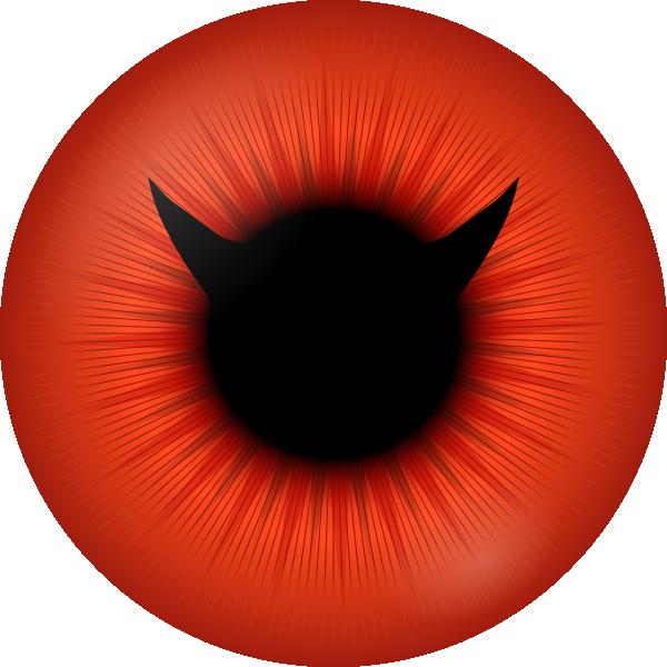 Eyeball coloured eye
