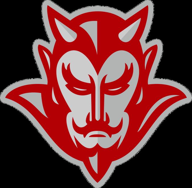 The atkins foundation home. Devil clipart red devil
