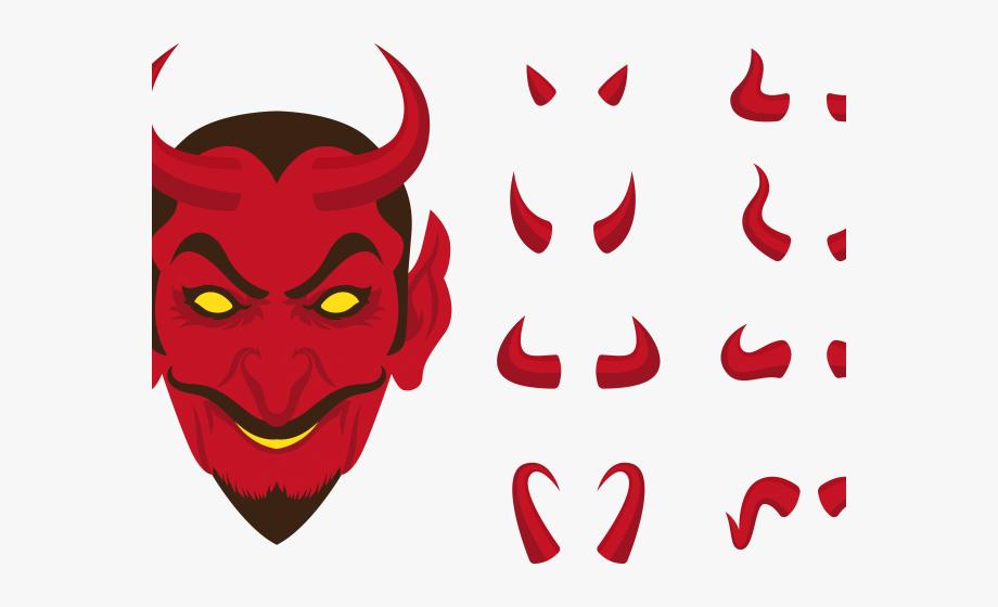 Devil clipart red devil. Demon marshmallow horns png