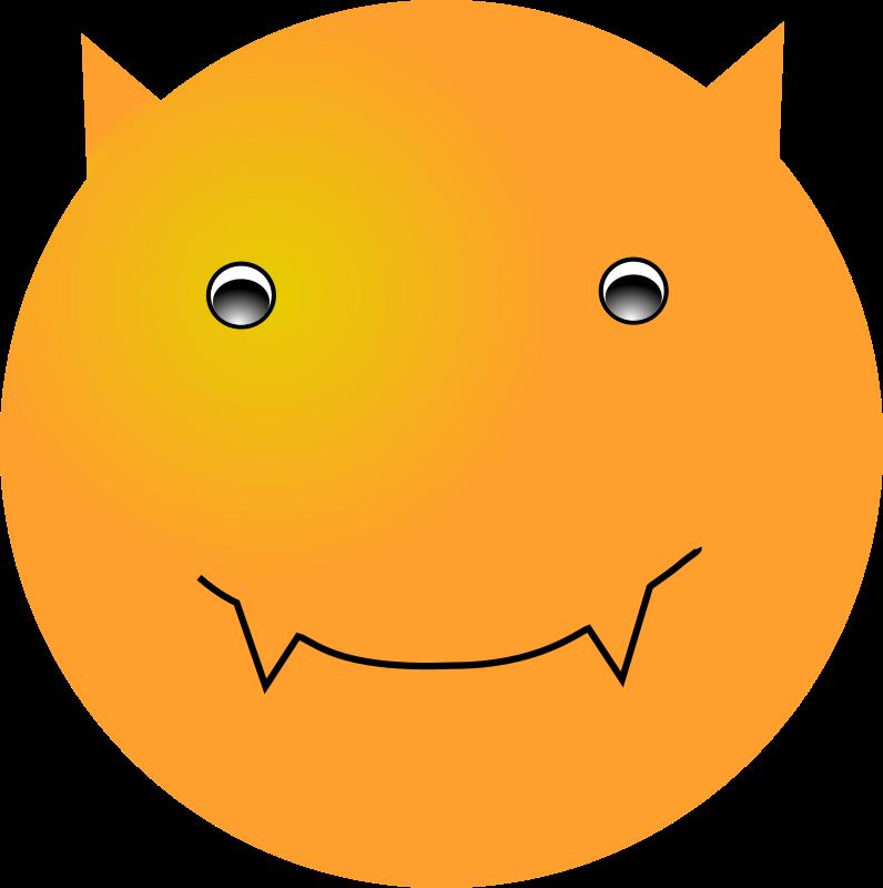 Devil clipart royalty free. Smiley face clip art