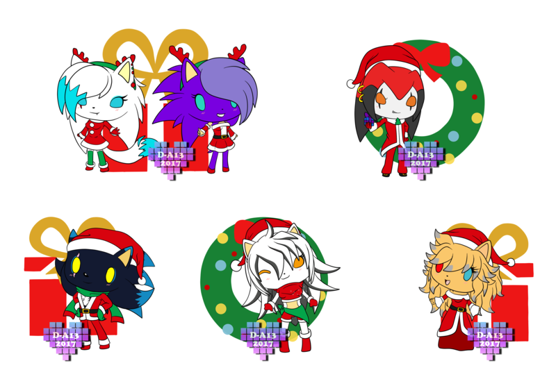 A xmas for friends. Gift clipart my cute graphics