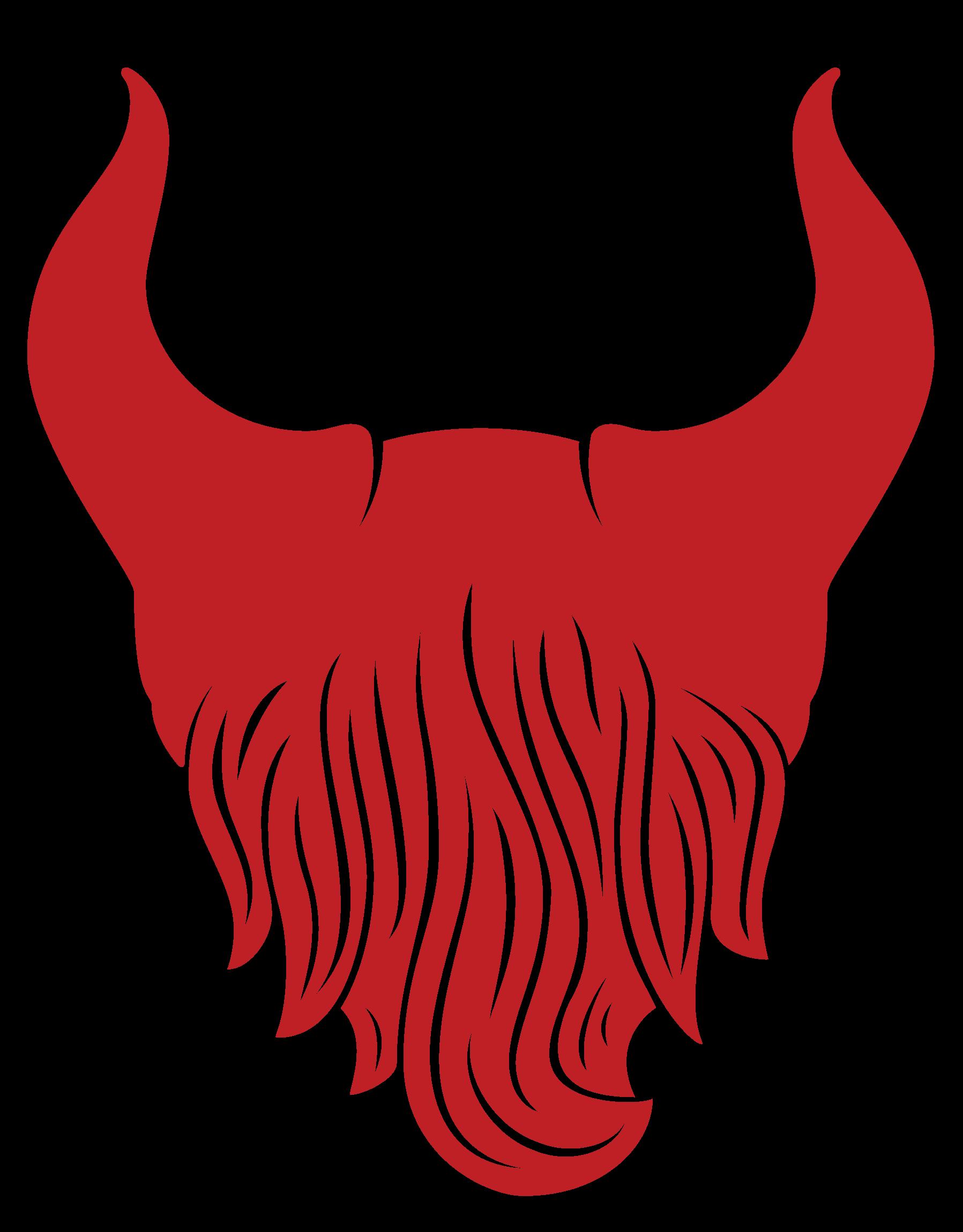 Beard man clip art. Devil clipart sticker