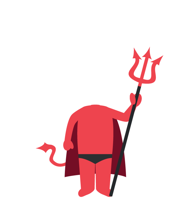Build devilbody png grim. Trident clipart devils