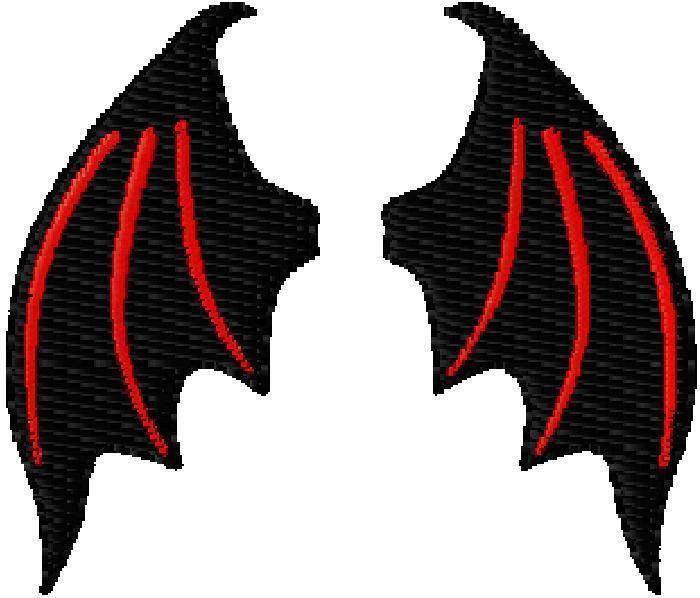 Download clip art . Devil clipart wings