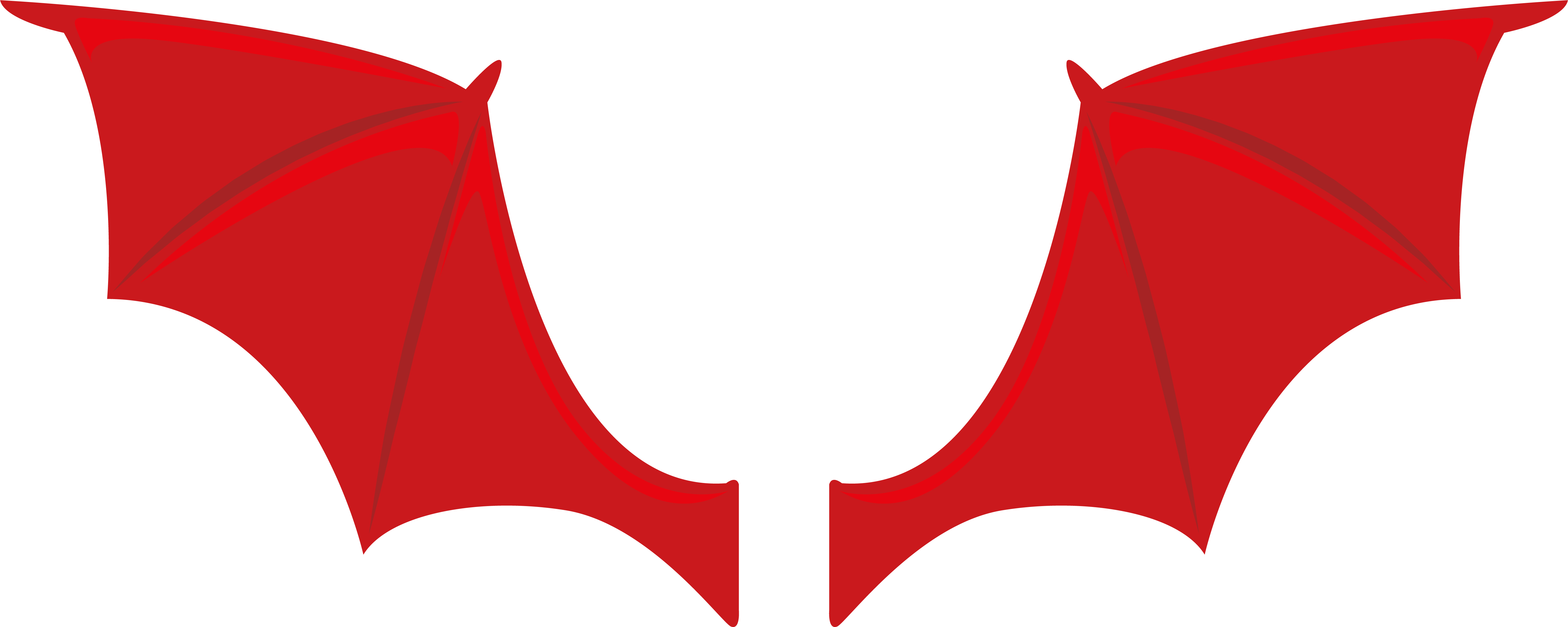 Devil clipart wings. Angel icon red transprent