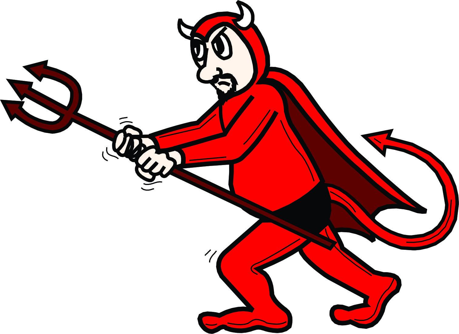 Devil clipart word. X free clip art