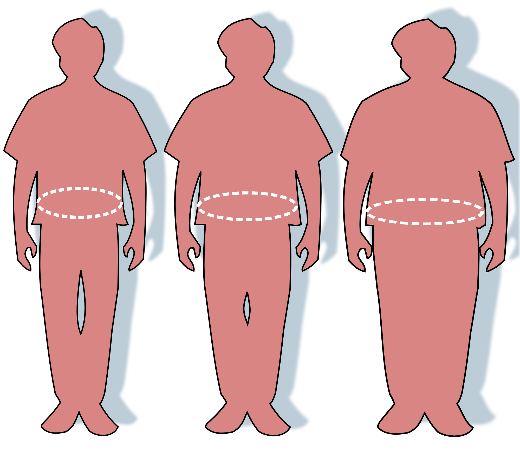 Insights into fat signaling. Weight clipart fit person