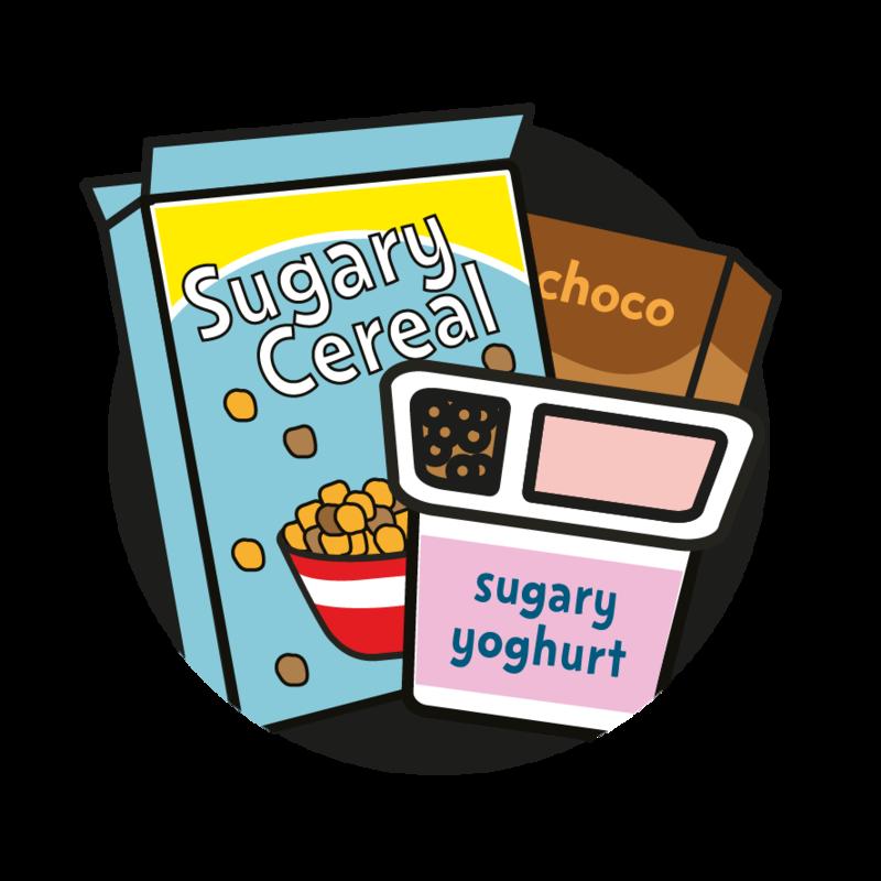 Sugar change life top. Grain clipart unhealthy