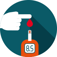 Free icons library . Diabetes clipart icon
