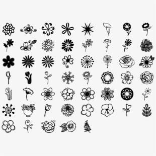 Bullet journal flower doodles. Diabetes clipart side effect