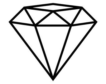 Engagement etsy svg file. Clipart diamond