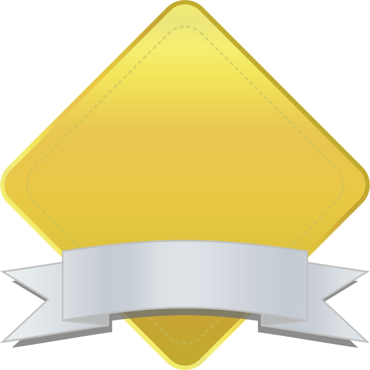 Diamond clipart banner. Angle yellow triangle png