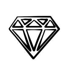 Diamond clipart black and white. Image result for clip