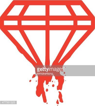 Premium clipartlogo com . Diamond clipart blood diamond