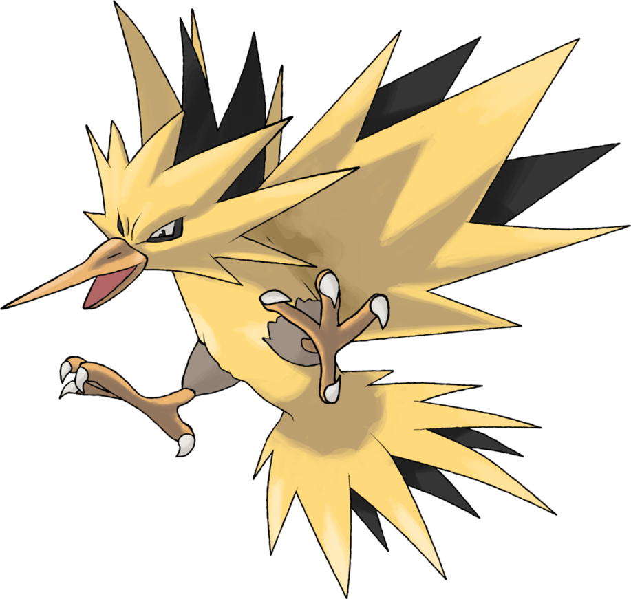 Diamond clipart bunch. Zapdos day by theangryaron