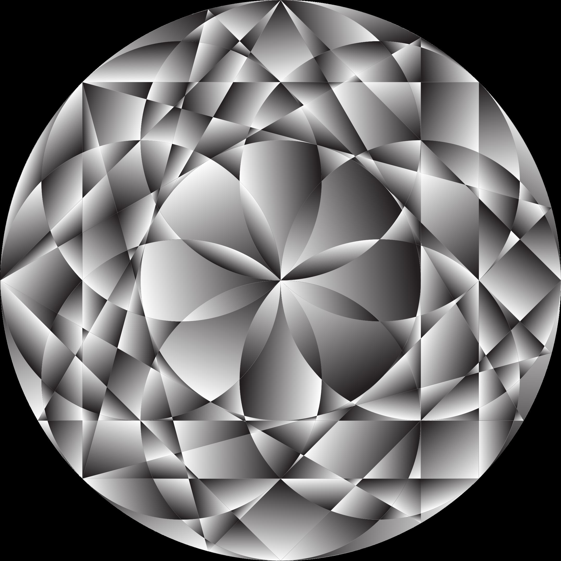 Diamond clipart circle. Gem big image png