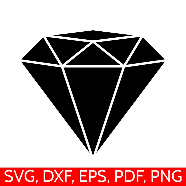 Diamond svg file dxf. Diamonds clipart logo