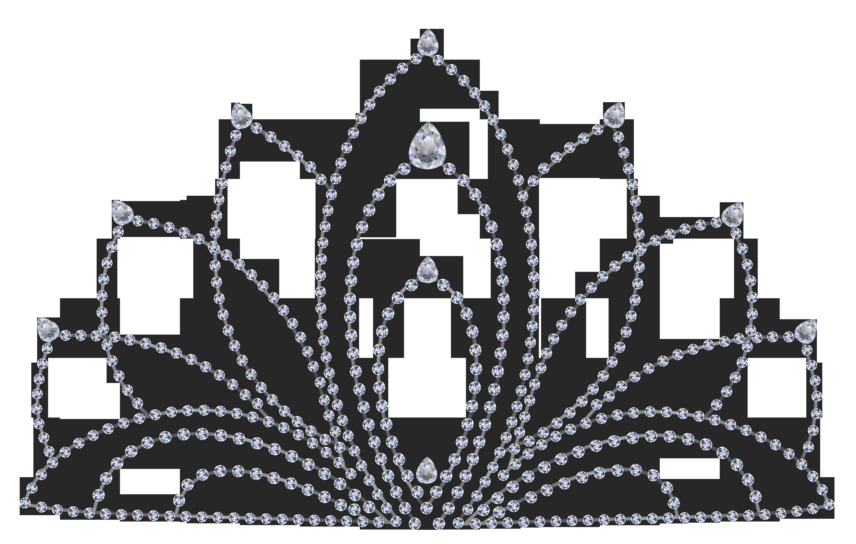 Diamonds clipart line drawing. Tiara crown clip art