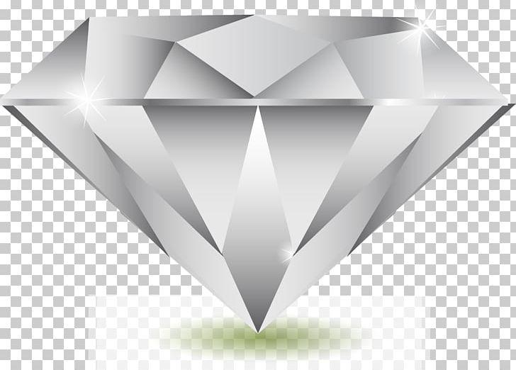 Euclidean gemstone diamond shape. Diamonds clipart mineral