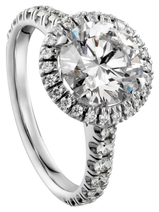 Ring with white png. Diamond clipart platinum