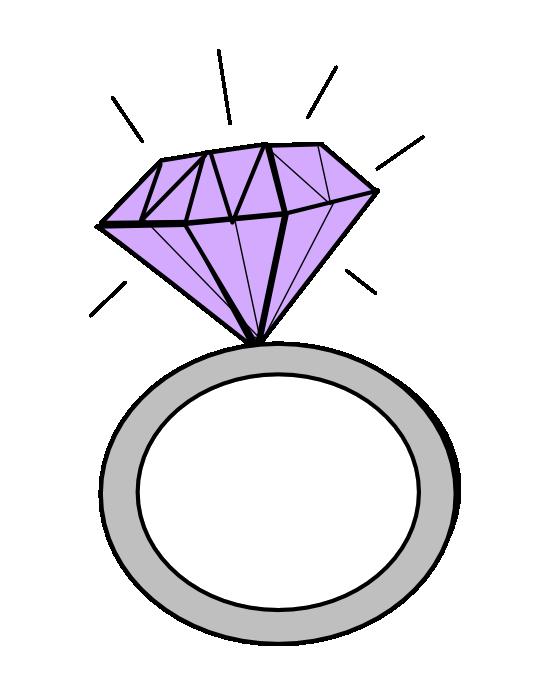 Engagement clipart engagement indian. Ring diamond clip art
