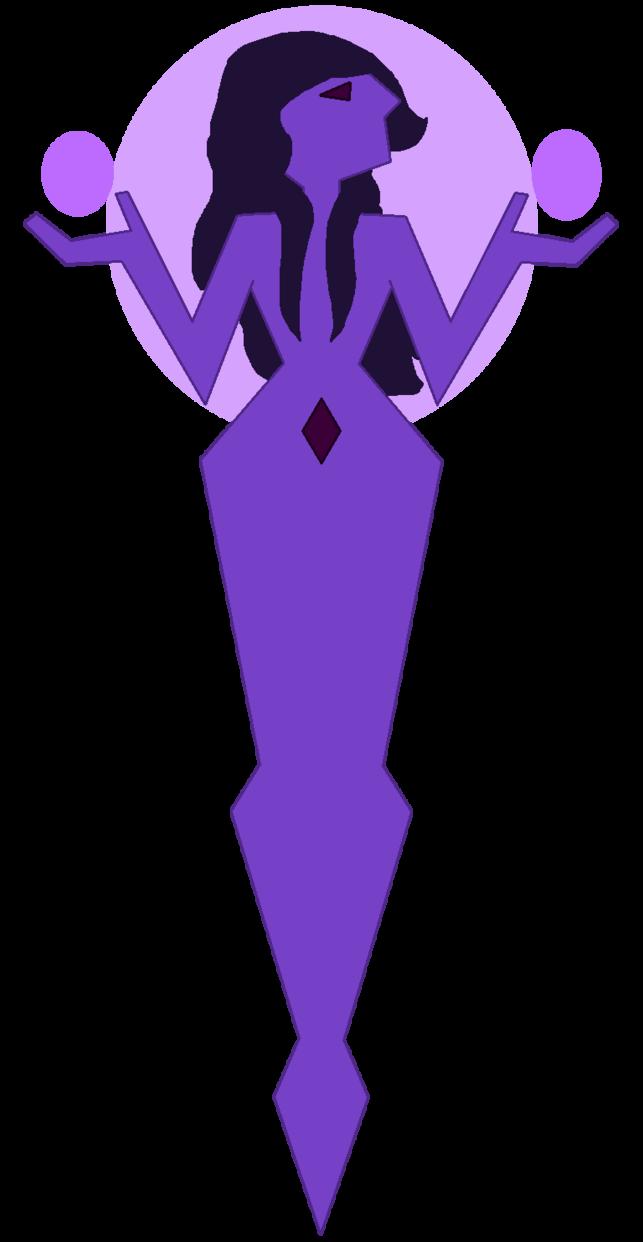 Diamond mural by twistednights. Diamonds clipart purple