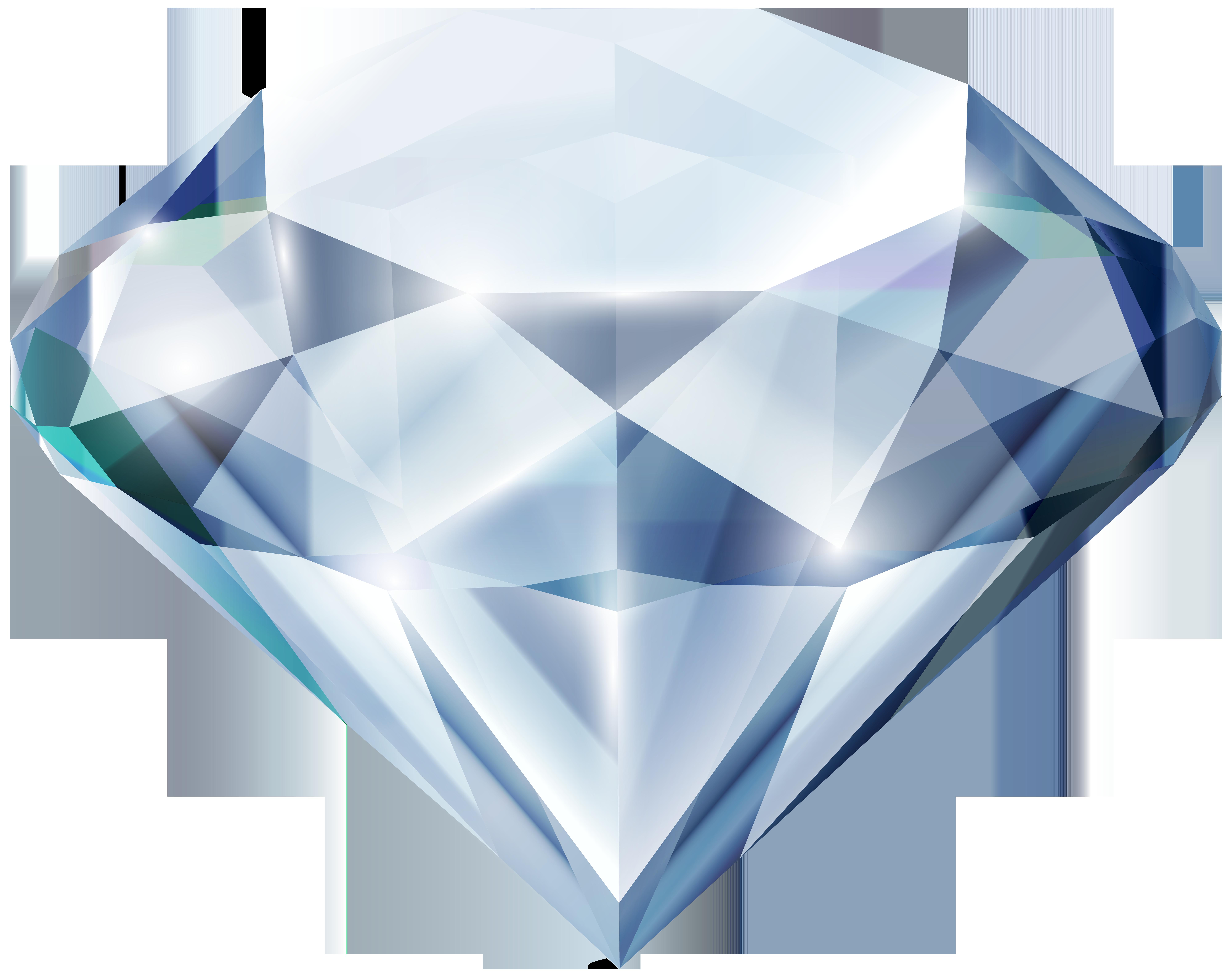 Transparent clip art image. Diamond clipart rock