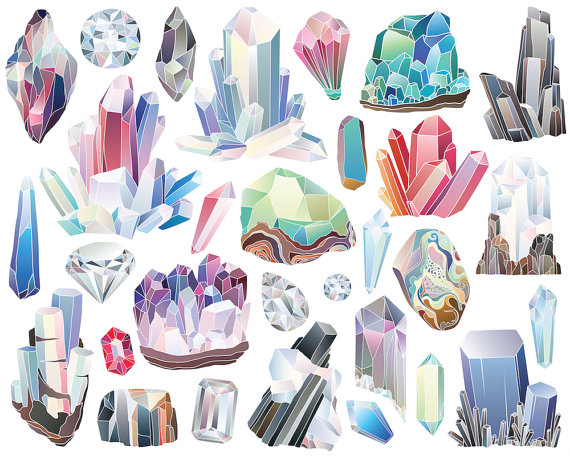 Pin by etsy on. Diamond clipart rock