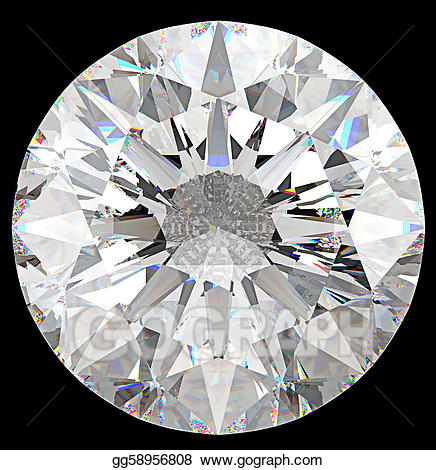 Drawing gemstone view of. Diamonds clipart top