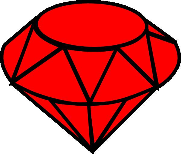 diamond clipart ruby