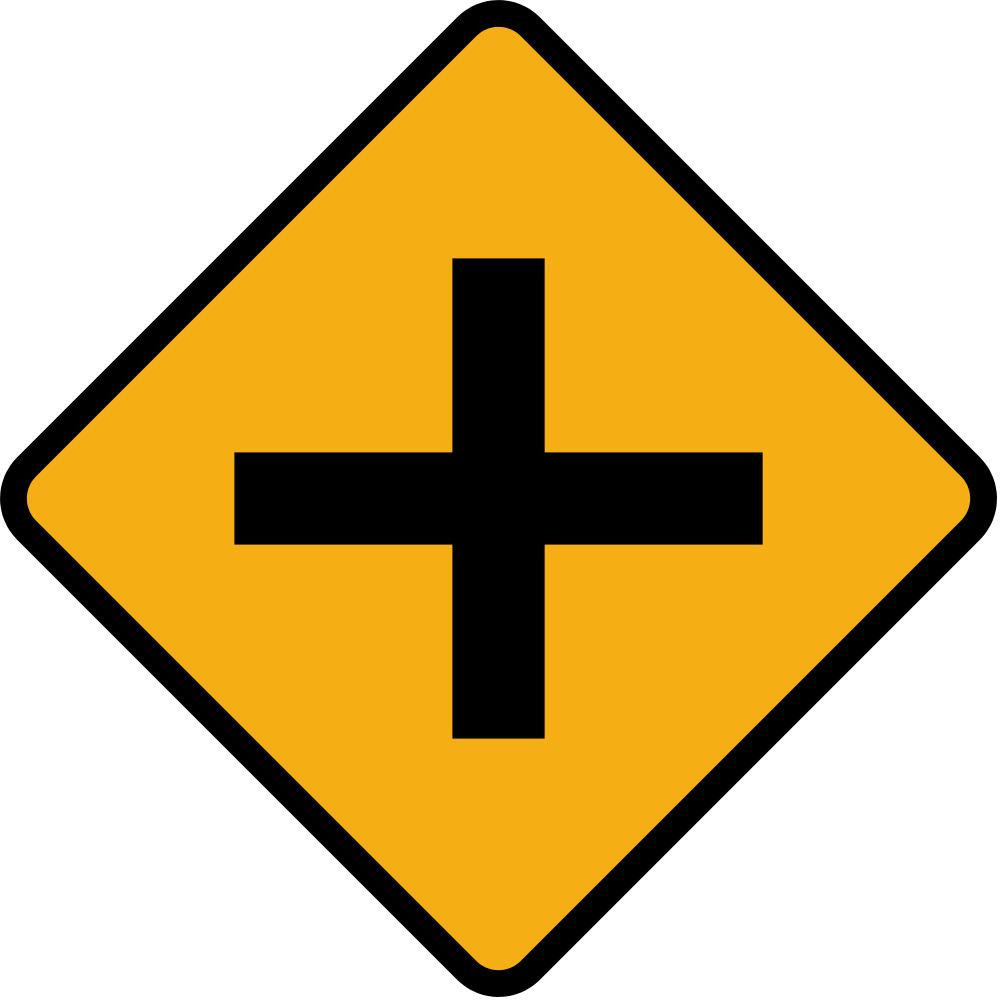 File diamond road sign. Future clipart crossroads