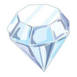 Clip art library . Diamond clipart sparkling diamond