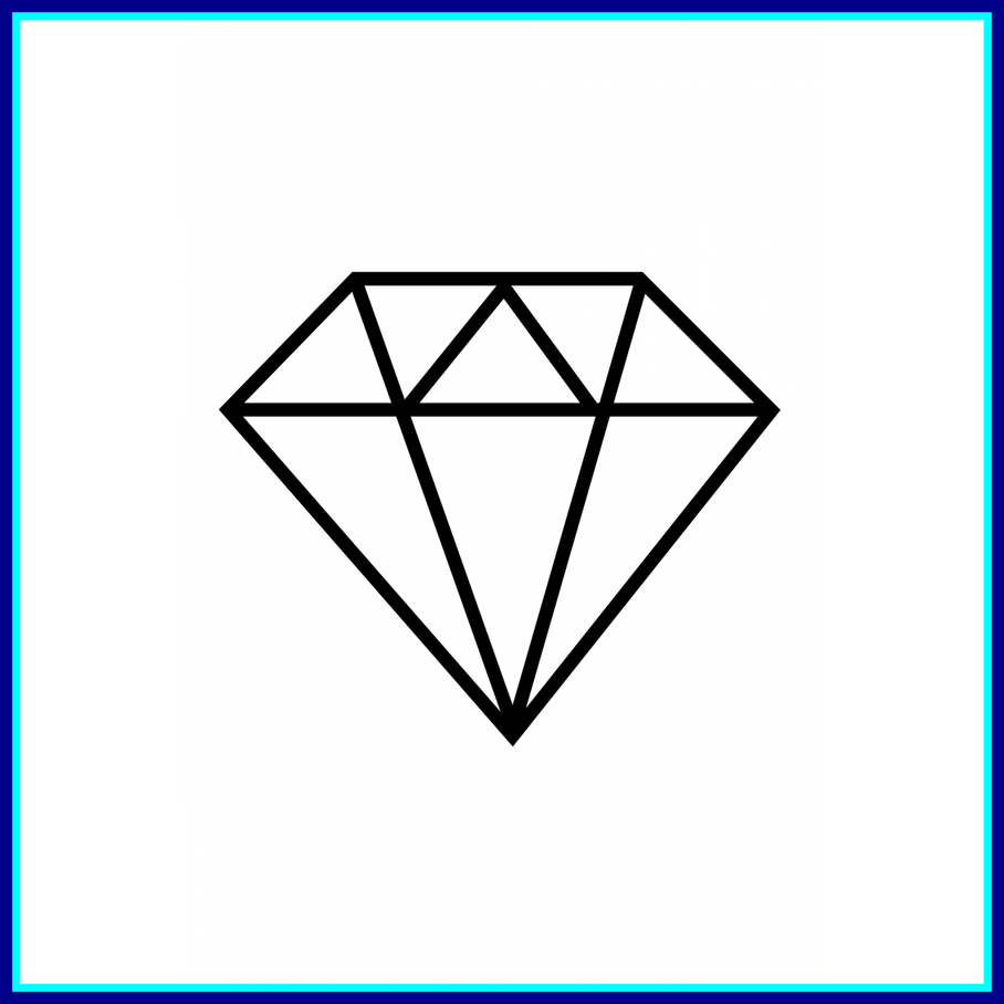 Diamond clipart stencil. All about source shocking