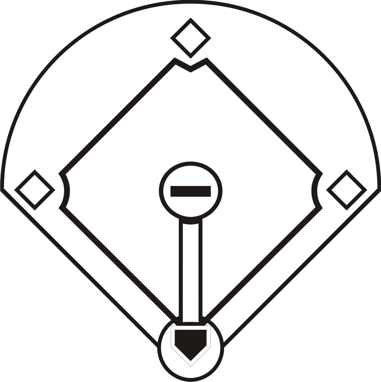 Diamond clipart template. Free baseball printable download