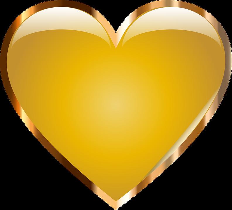 Gold png hearts pinterest. Heartbeat clipart green