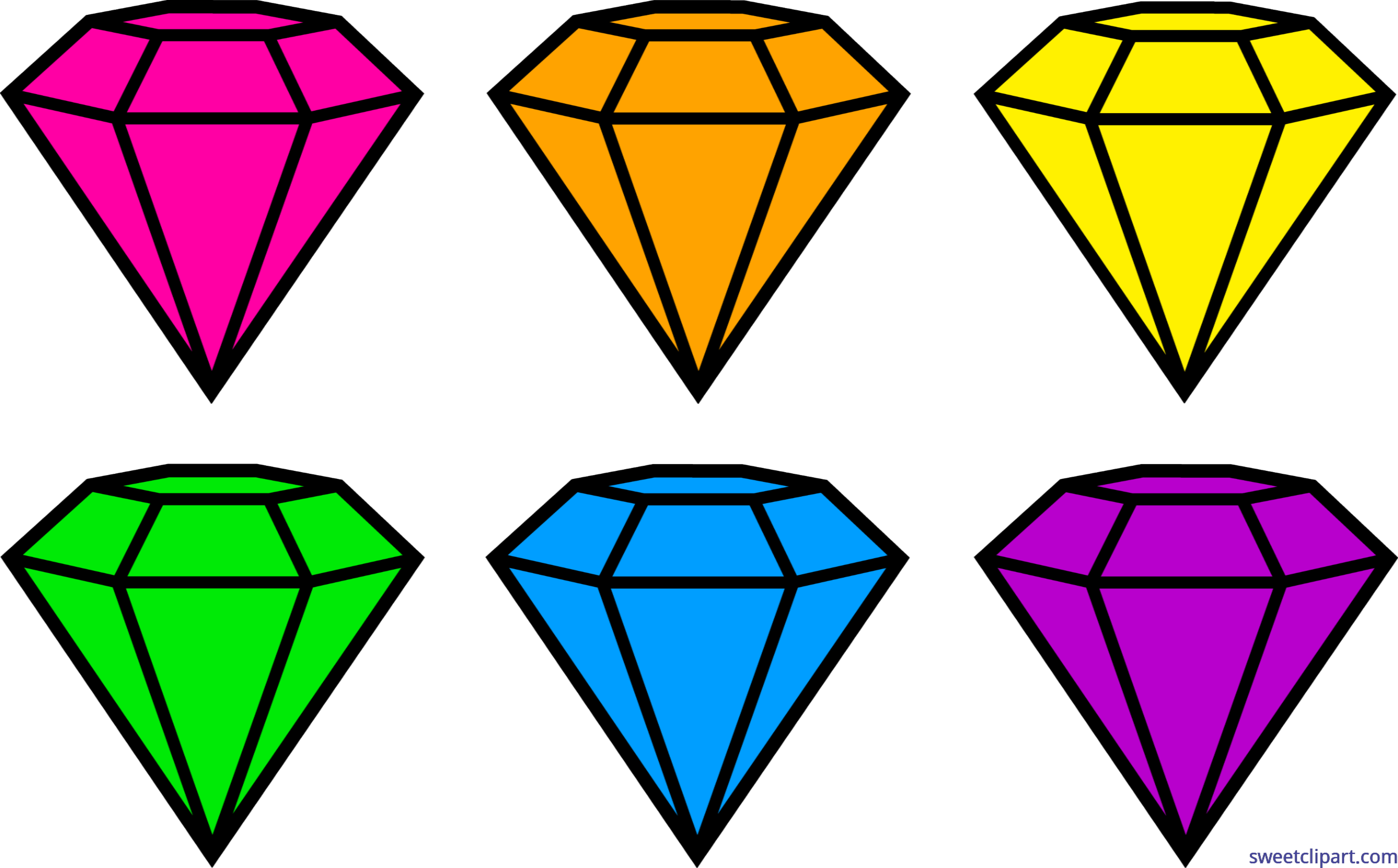 All clip art archives. Diamond clipart yellow diamond