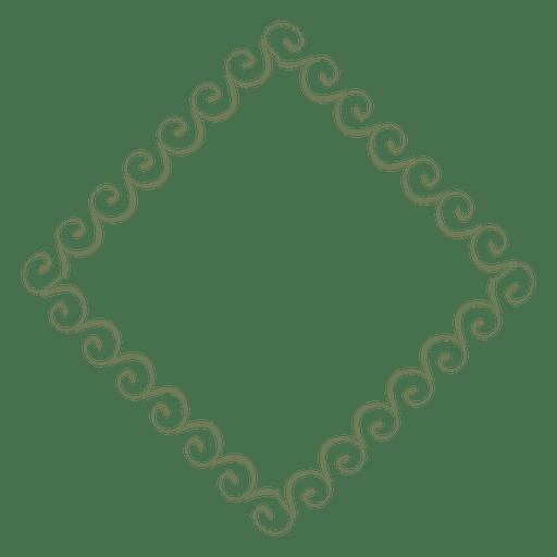 Transparent svg vector. Diamond frame png