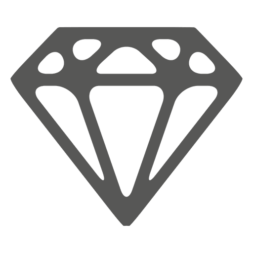 Diamond png vector. Sketched icon transparent svg
