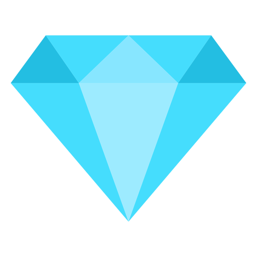 Diamond vector png. Flat icon transparent svg