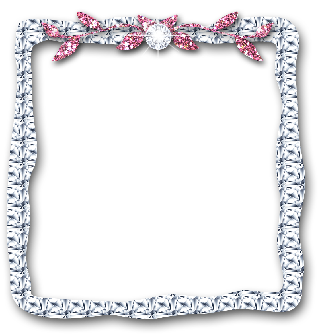 Hd crystals diamond outline. Diamonds clipart banner