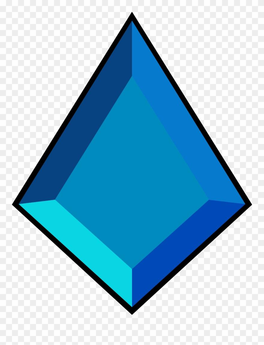 Gems shape blue steven. Gem clipart diamond shaped thing