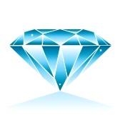 Diamonds clipart blue diamond. Free cliparts download clip