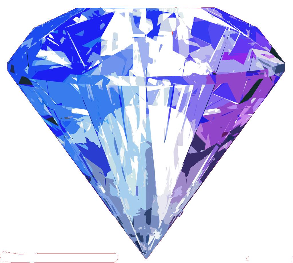 Samsung blue diamonds png. Galaxy clipart galaxy diamond
