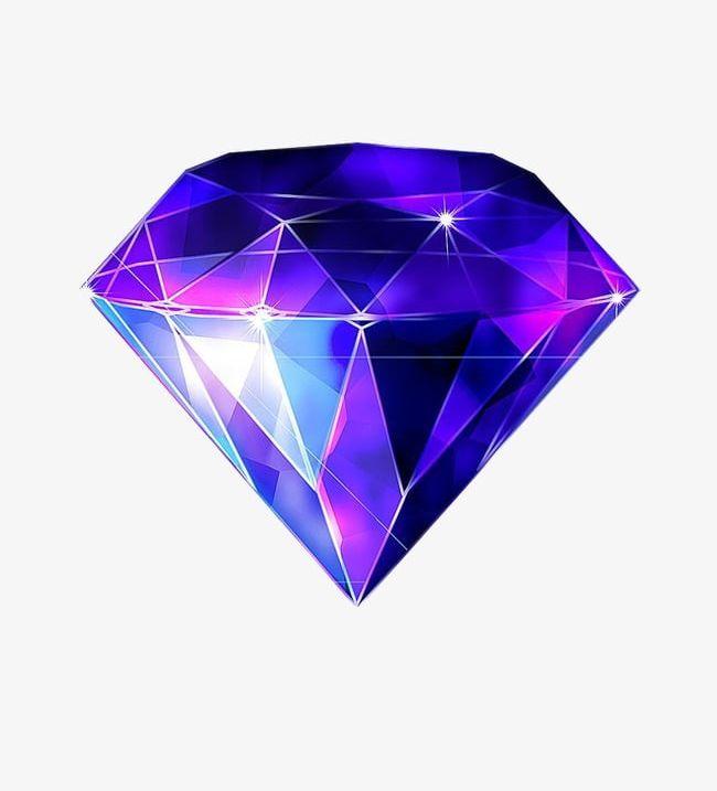 Diamond png colorful . Diamonds clipart coloured