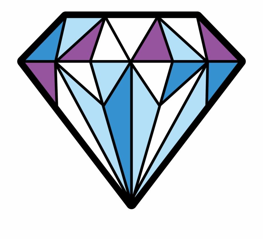 Diamonds clipart coloured. Colorful transparent