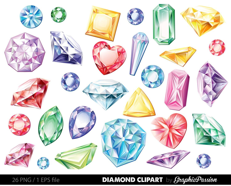 Vector gems clip art. Diamonds clipart diamond stone