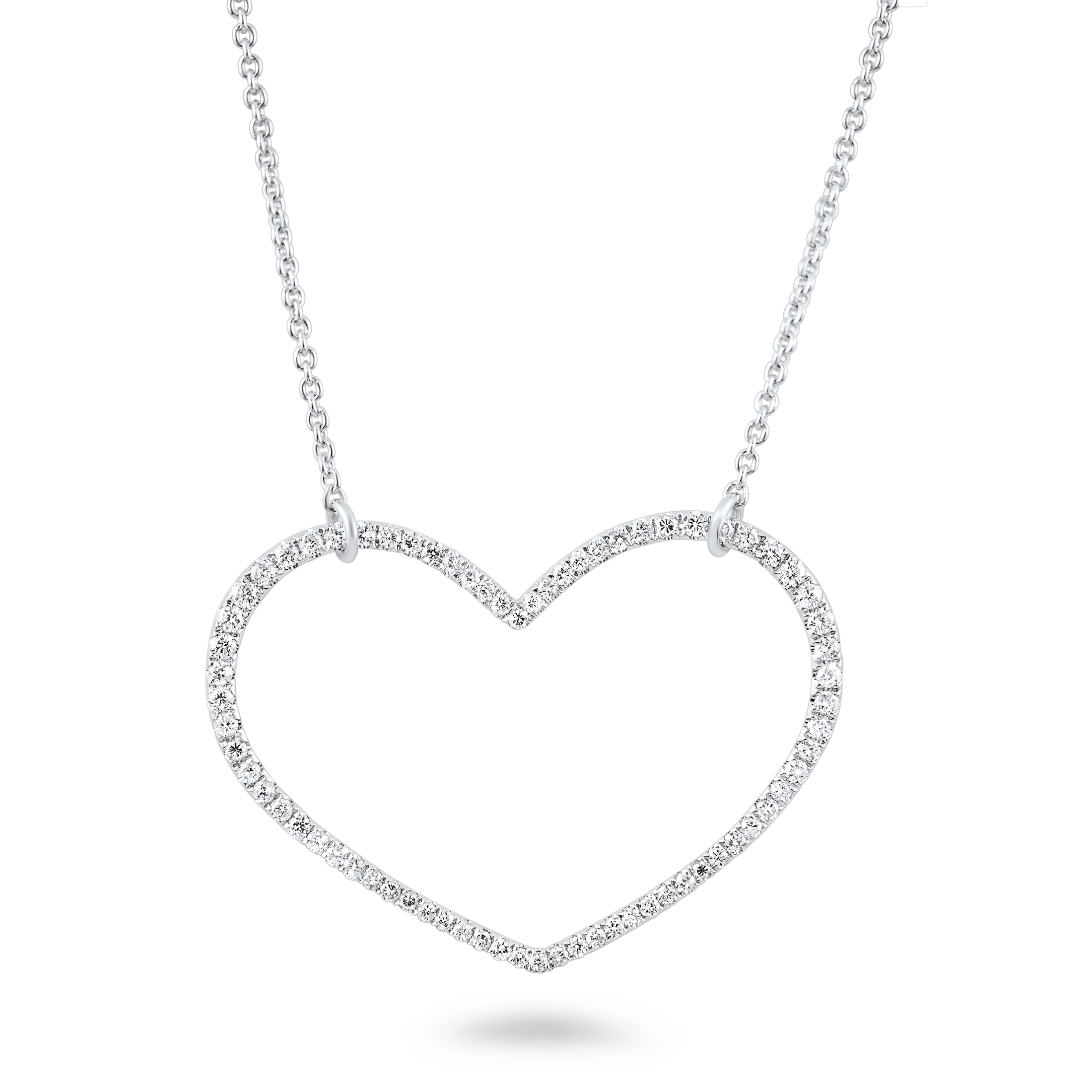 Necklace heart necklace