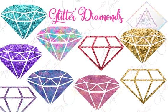 Diamonds clipart gold glitter. Irridecent foils unicorn clip