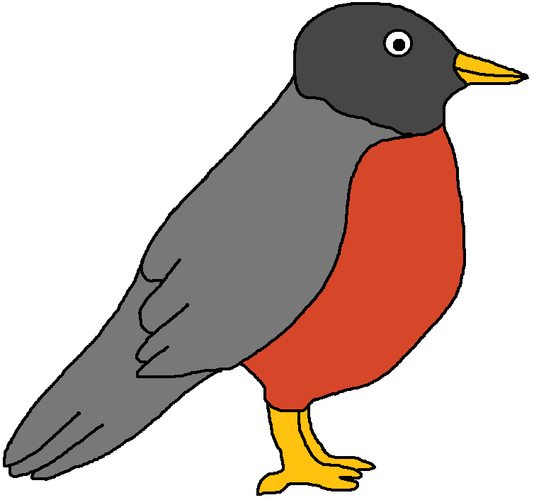 Diamonds clipart kickball. Robin free bird collection