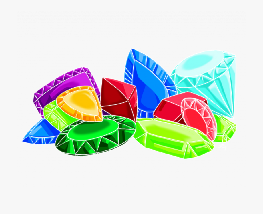 Diamonds pile of gems. Jewel clipart jewls